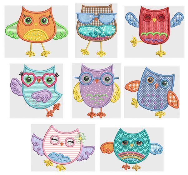 Funky Owls