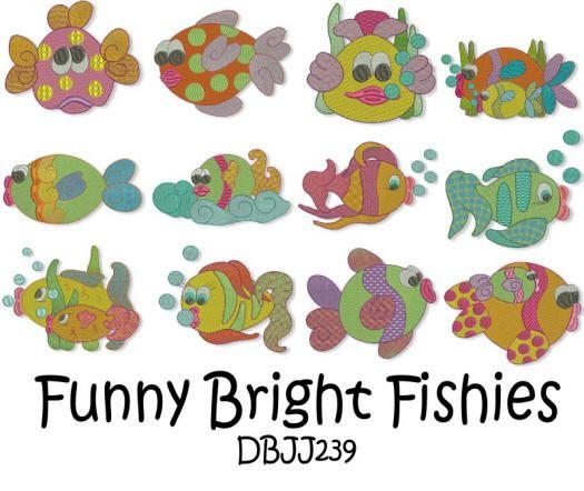 Funny Bright Fishies