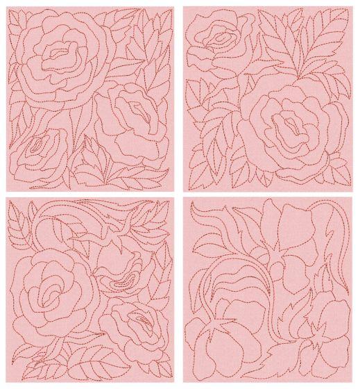 Wild Flower Quilt Blocks 3