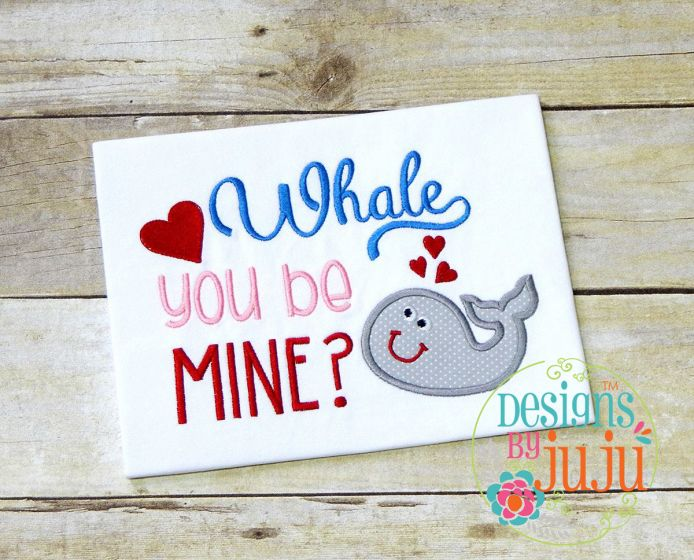 Whale You Be Mine