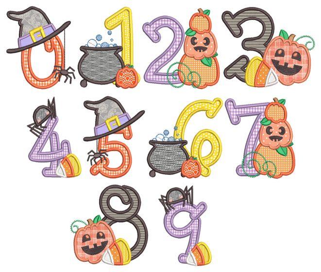 Halloween Numbers