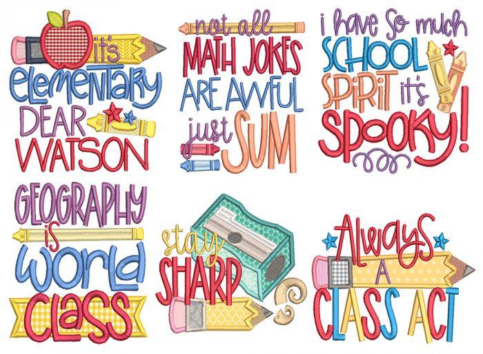 Punny School Word Art 1