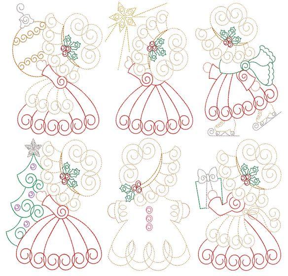 Sunbonnet Sue Returns Christmas Vintage Stitch