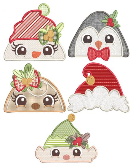 Christmas Peeker Toppers 2