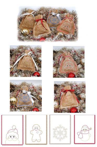 Simply Seasonal Gift Bags Set 1
