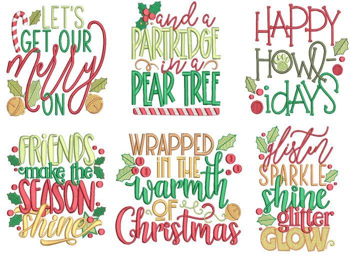 Christmas Word Art 13