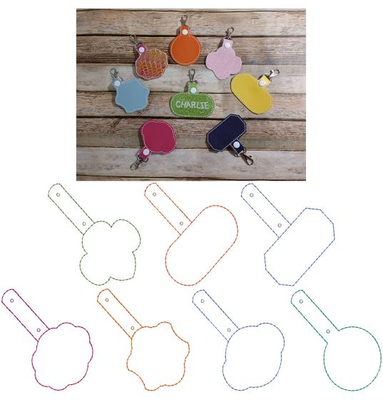 Blank Shapes Key Fobs ITH 1