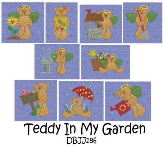 Teddy in My Garden