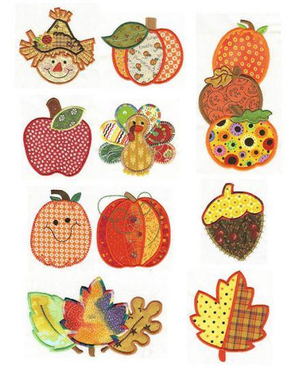 Harvest Patchwork Applique