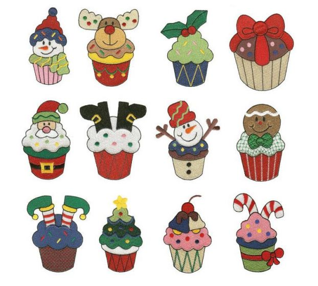 A Cupcake Christmas Filled