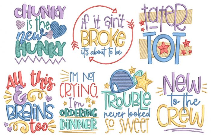 Little Ones Word Art 2