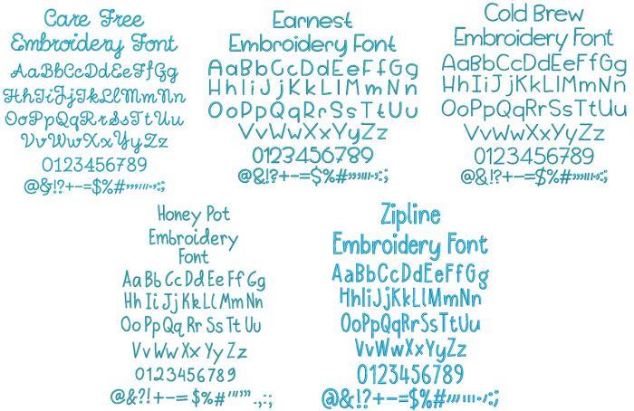 Quarter Inch Font Bundle 13