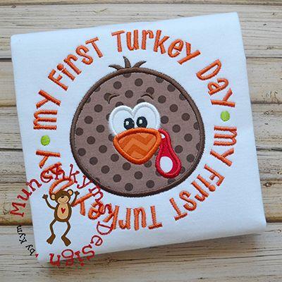 My First Turkey Day Boy