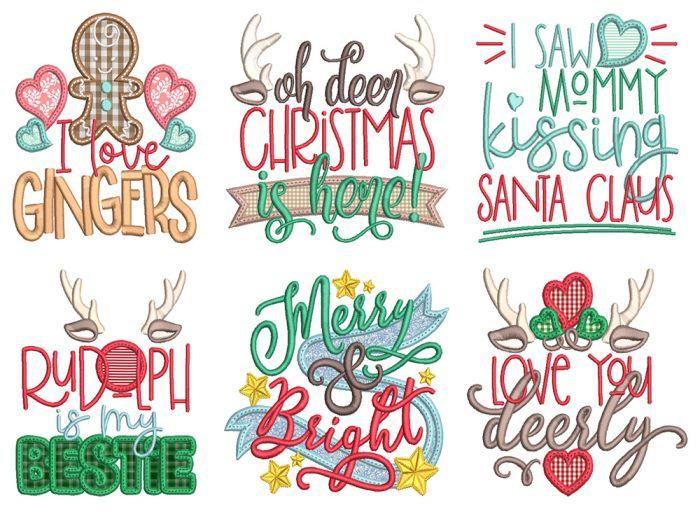 Christmas Word Art 6