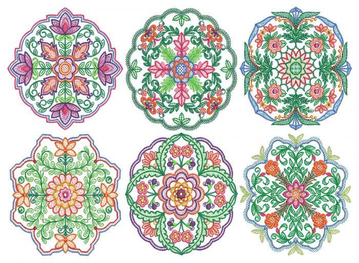 Floral Mandalas 1