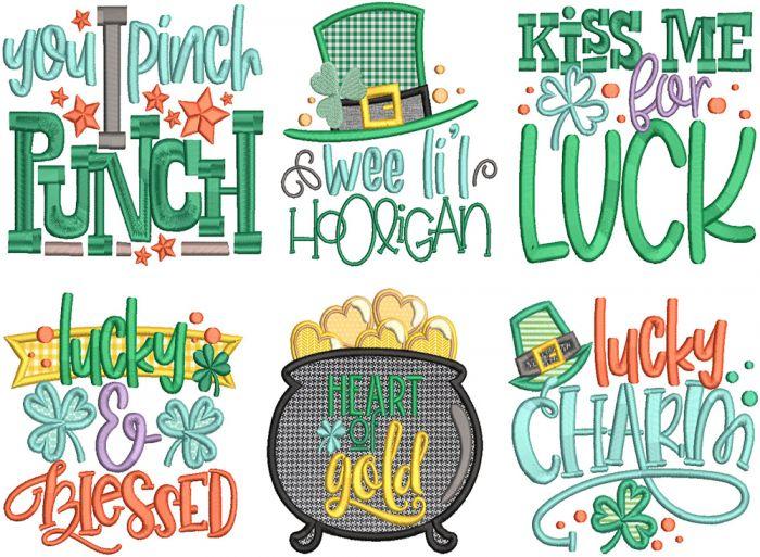 Lucky Charm Word Art