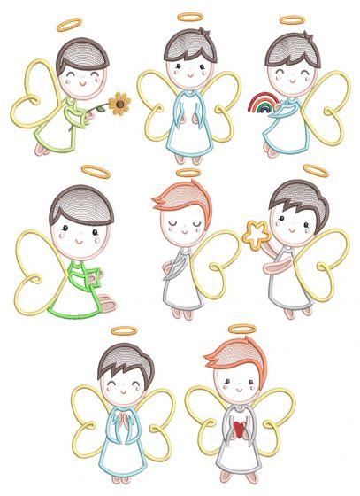 Boy Angels Applique