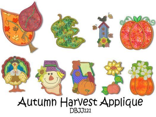 Autumn Harvest Applique