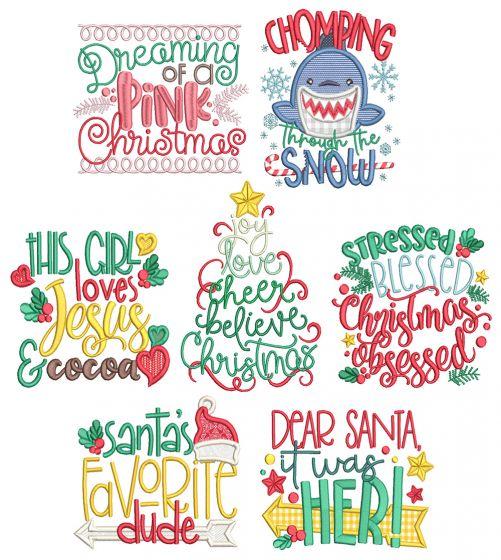 Christmas Word Art 9