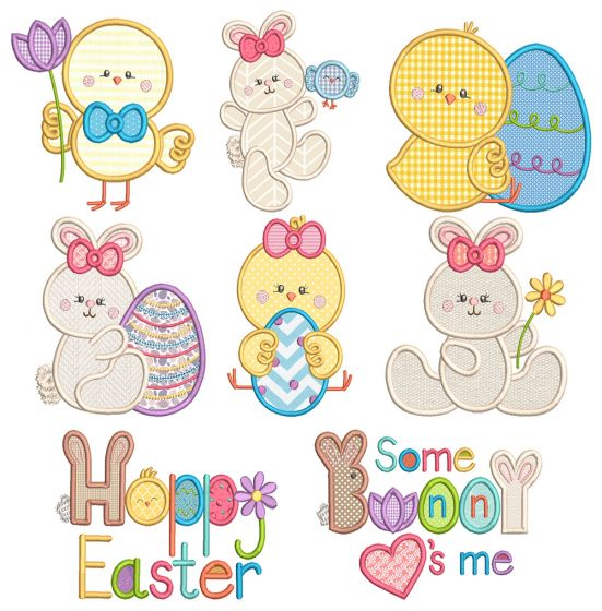 Sweet Easter Fun 1 Machine Embroidery Designs By JuJu