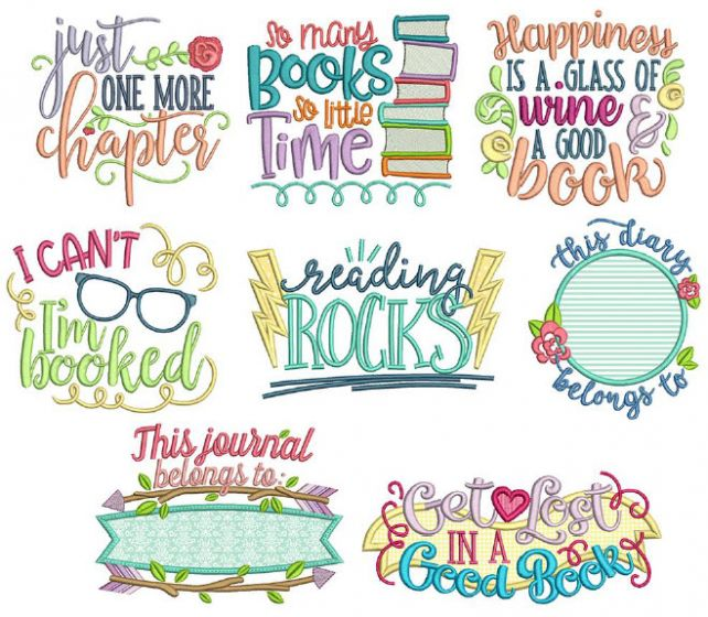 Reading Word Art Set 3