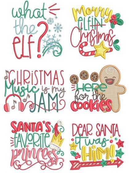 Christmas Word Art 10