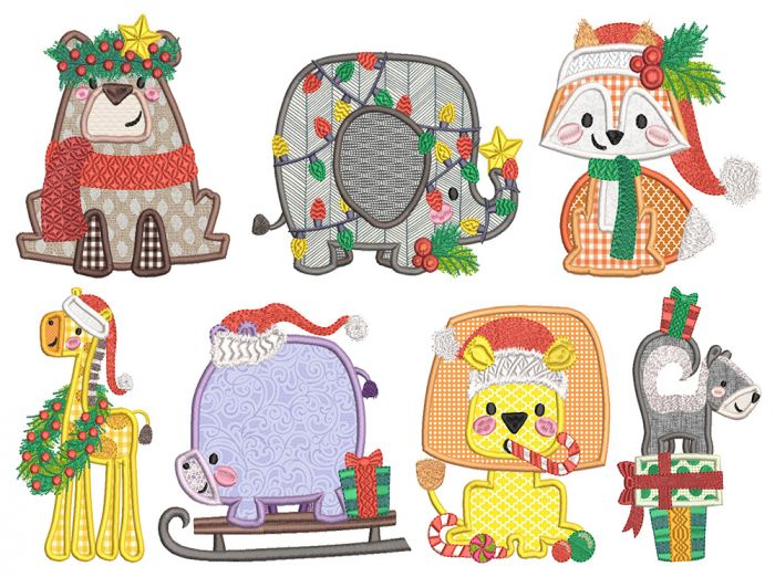 Boxy Christmas Critters