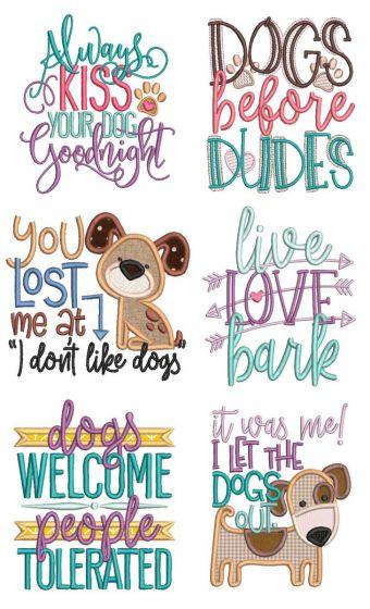 Dog Lovers Word Art 1