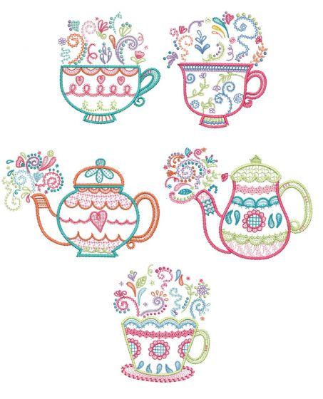 Tea Time Doodles 1