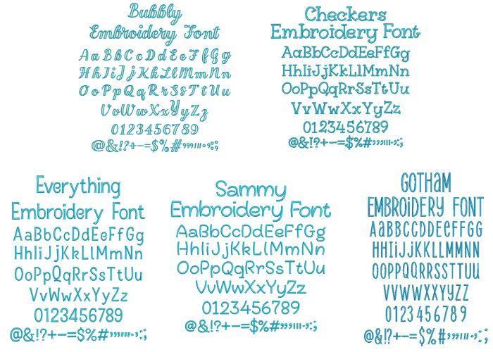 Quarter Inch Font Bundle 7