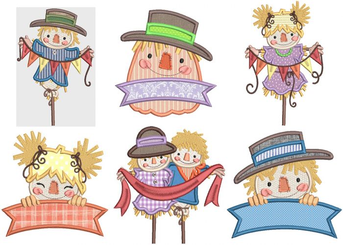 Sweet Scarecrows