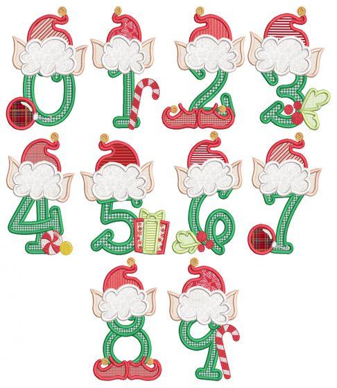 Christmas Elf Numbers