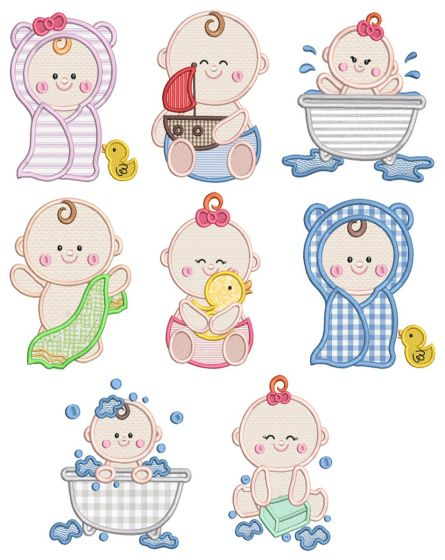 Bathtime Babies
