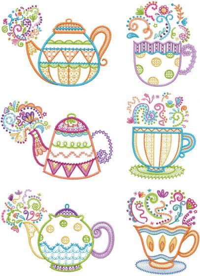 Tea Time Doodles 2