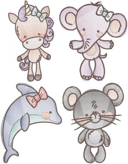 All The Critters Sketch 6
