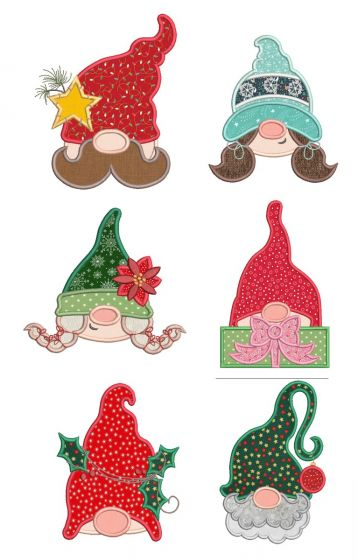 Christmas Gnome Peekers
