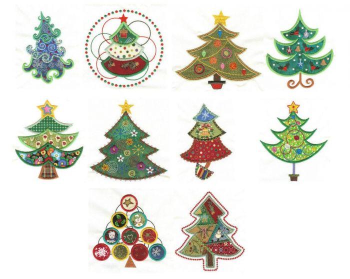 O Christmas Tree Applique