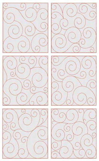 Swirly Quilt Blocks 2