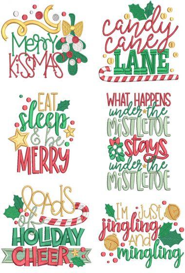 Christmas Word Art 11