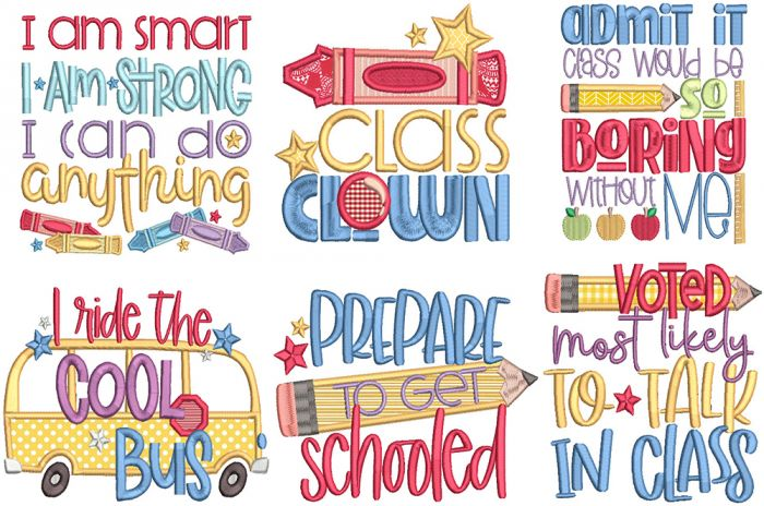 Back To School Word Art