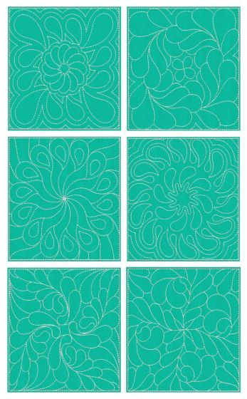 Feather Quilt Blocks 2