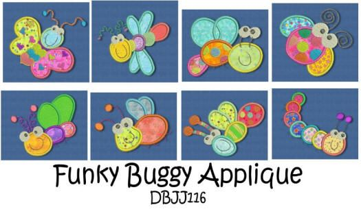 Funky Buggy Applique 4x4