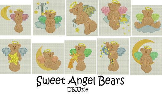 Sweet Angel Bears