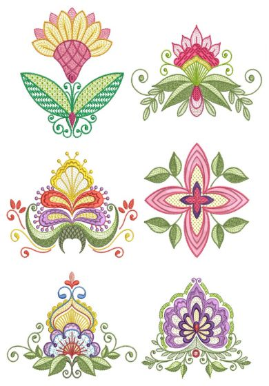 Scandinavian Floral 2