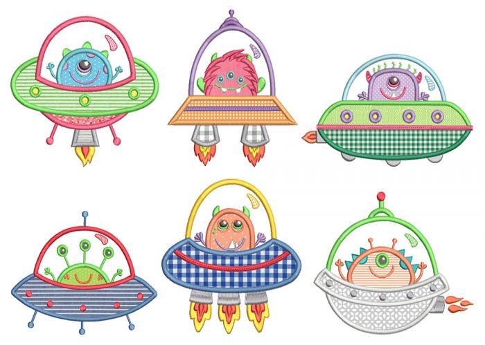 Spaceship Monsters
