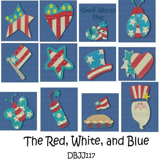 The Red, White and Blue