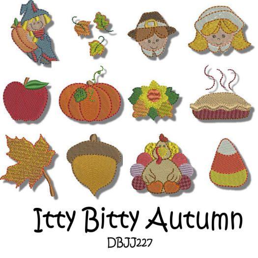 Itty Bitty Autumn