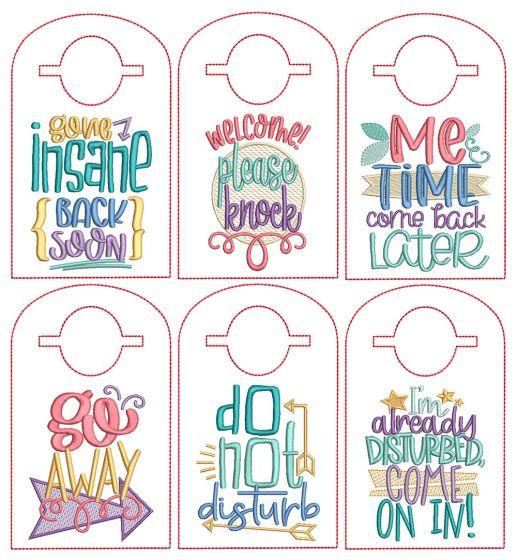 ITH Doorknob Hangers Set 4