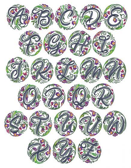 Circle Medallion Monogram