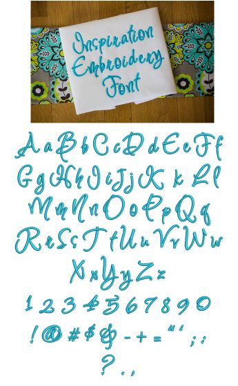 Inspiration Embroidery Font Machine Embroidery Designs by JuJu Monograms and Alphabets
